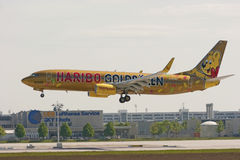 Haribo plane Royalty Free Stock Photography