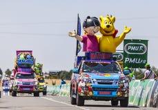 Haribo pojazdy Obrazy Royalty Free