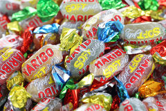 Haribo soft jelly sweets Stock Image