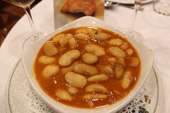 Haricot beans soup Royalty Free Stock Image