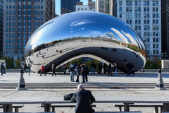 Haricot de Chicago photographie stock libre de droits