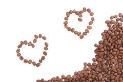 Haricot de Coffe Photographie stock libre de droits