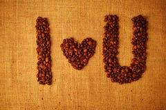 Haricot de Coffe Photographie stock