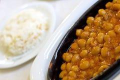 haricot ryż Obrazy Royalty Free
