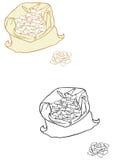 Haricots beurre Image libre de droits