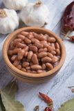 Haricots blancs cuits photos stock