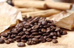 Haricots de Coffe Photo stock