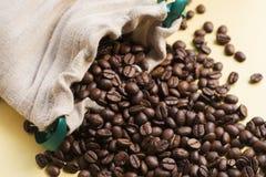 Haricots de Coffe Photos libres de droits