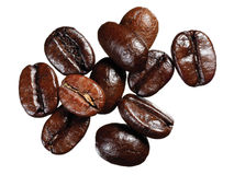 Haricots de Coffe Images stock
