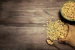 Haricots de soja Photo libre de droits