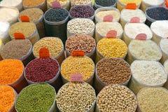 Haricots et riz Image stock