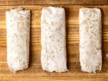 Haricots fermentés de soja photos libres de droits