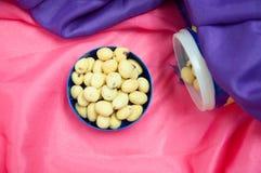 Haricots japonais de bonbons Photos libres de droits