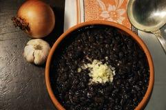 Haricots noirs Photo libre de droits