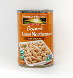 Haricots nordiques grands organiques Photo stock
