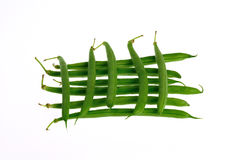 Haricots verts photo libre de droits