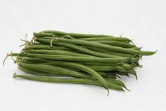 Haricots verts - common green beans Stock Photography