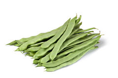 Haricots verts frais Photos stock