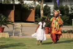 Haridasa chantant des chansons de dévotion photographie stock