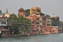 Haridvar, Uttarakhand,印度 恒河 库存图片