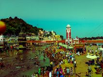 Haridwar Immagini Stock Libere da Diritti