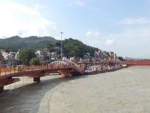 Haridwar Στοκ φωτογραφία με δικαίωμα ελεύθερης χρήσης