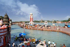 Haridwar - The gateway to the kingdom of Gods royalty free stock image