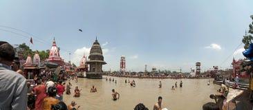 haridwar india Fotografering för Bildbyråer