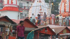 Haridwar India stock footage