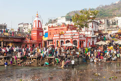 Haridwar in India Royalty Free Stock Photo