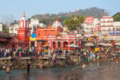 Haridwar in India Stock Images