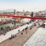 Haridwar in Indien lizenzfreie stockfotografie