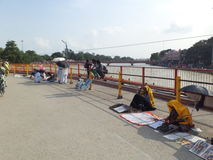Haridwar, Uttarakhand Στοκ φωτογραφία με δικαίωμα ελεύθερης χρήσης