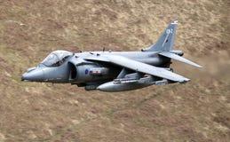 Harier GR9 tryska RAF Zdjęcie Royalty Free