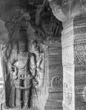 Harihara -毗湿奴和湿婆雕塑  免版税库存图片