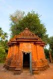 Harihareshwar tempelfasad, Raigad område, Maharashtra royaltyfri fotografi