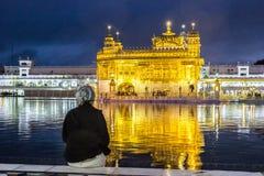 Harimandir Sahib al complesso dorato del tempio, Amritsar - India Immagini Stock