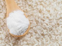 Harina de arroz Imagen de archivo