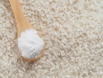 Harina de arroz Imagen de archivo libre de regalías