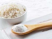 Harina de arroz Fotos de archivo libres de regalías