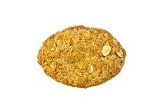 Harina de avena una de las galletas Foto de archivo libre de regalías