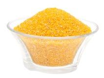 Harina de maíz. Foto de archivo libre de regalías