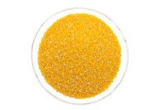 Harina de maíz. Imagen de archivo libre de regalías