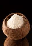 Harina del coco Gluten-libre fotos de archivo