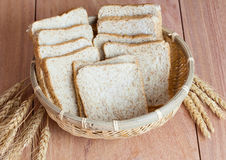 Harina del trigo, del pan y de trigo Fotos de archivo libres de regalías
