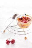 Harina libre del gluten de los Clafoutis del arroz Imágenes de archivo libres de regalías