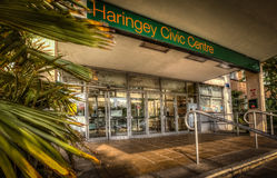 Haringey Civic Centre Royalty Free Stock Photo