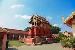 Hariphunchai świątynia Obraz Stock