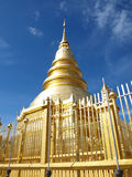 Hariphunchai temple at Lamphun Stock Photography