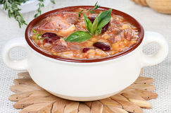 Harira soup Royalty Free Stock Photography